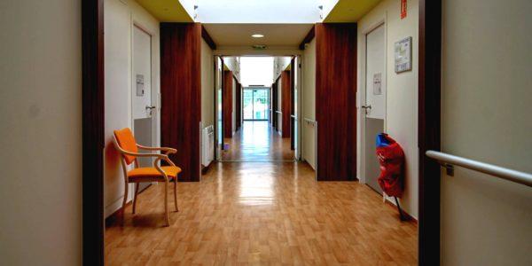Couloir de l'EHPAD